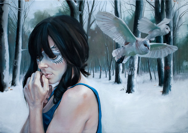 Nate Frizzell Oil Painting 001