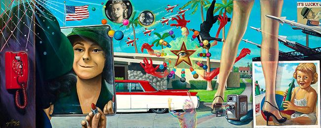 Geoffrey Gersten @ Copro Gallery via beautiful.bizarre art journal