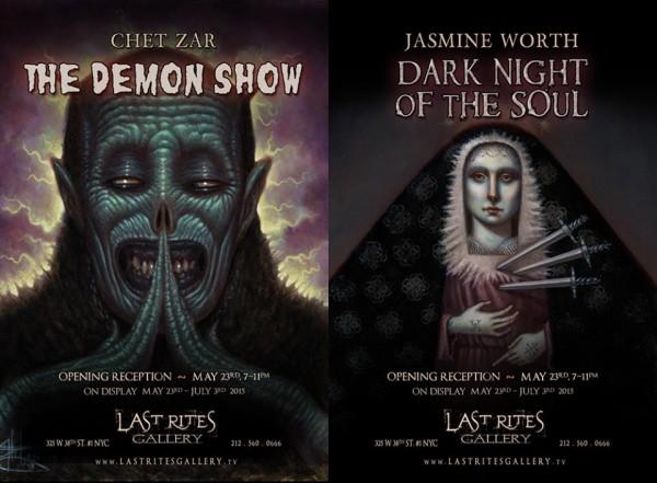 last rites gallery, chet zar, jasmine worth
