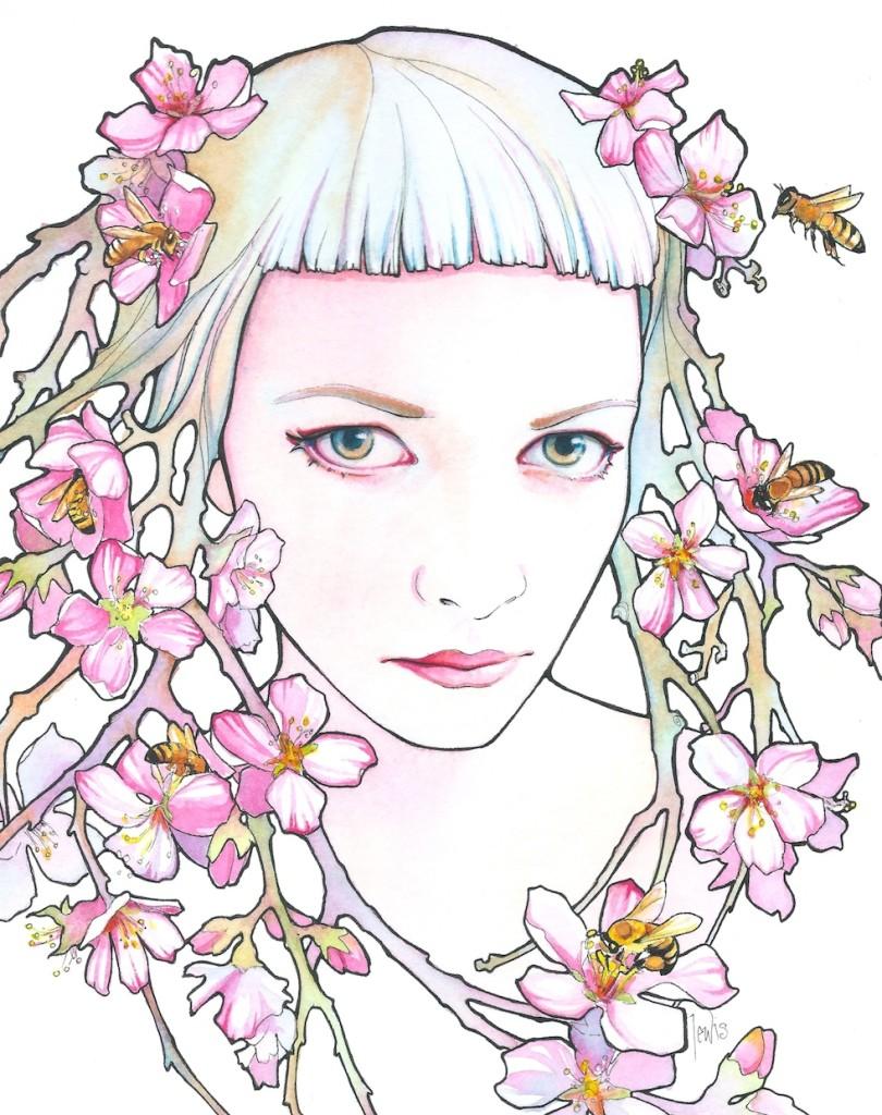 tracy_lewis_pink_yellow_blue_beautifulbizarre4