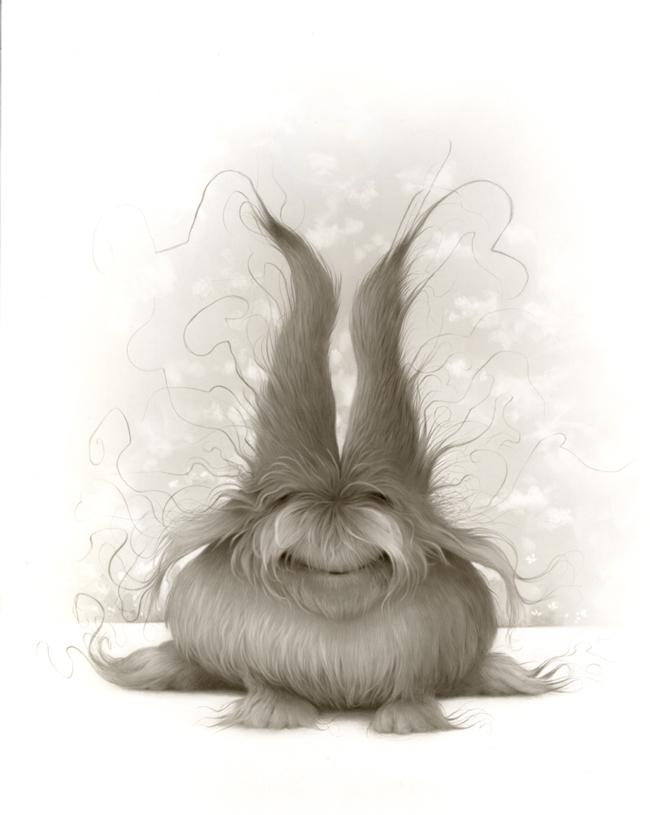 """Travis Louie, """"Dust Bunny"""" @ Roq La Rue, Seattle - article by beautiful bizarre"""