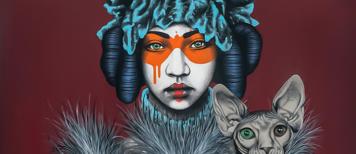 """""""The Nadeshiko"""" - A solo show by Fin DAC @ CAVE Gallery"""