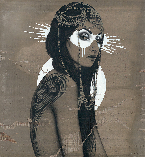 """""""Valkyria"""" by Fin DAC @ CAVE Gallery"""