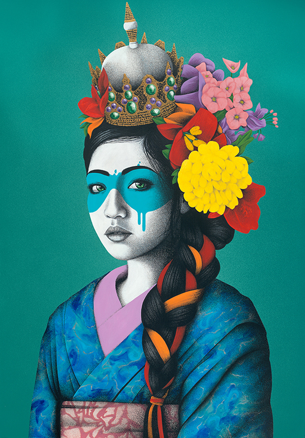 """""""Delicate"""" by Fin DAC @ CAVE Gallery"""