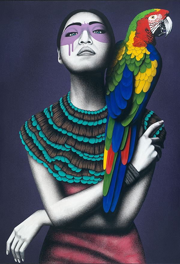 """""""Alabaster"""" by Fin DAC @ CAVE Gallery"""