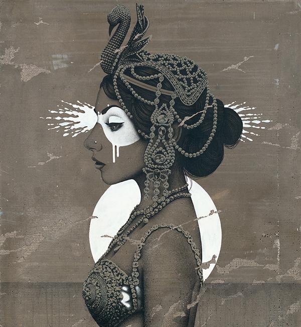 """Odettia"" by Fin DAC @ CAVE Gallery"