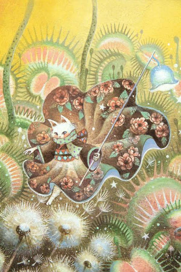 MALL, fantastical flora and fauna, moriko