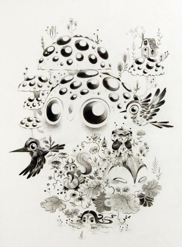 Lorena Alvarez Gomez, fantastical flora and fauna