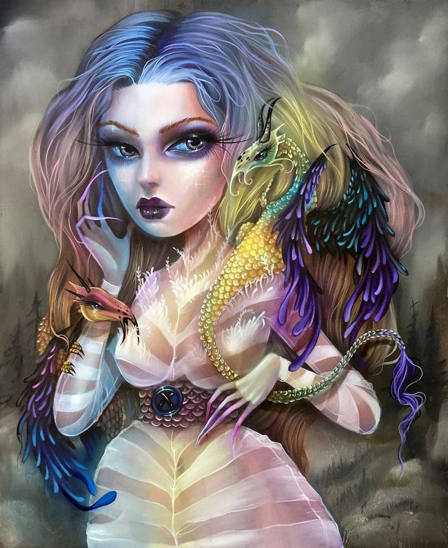 Kurtis_Rykovich_'Reverie_Modern Eden Gallery_beautifulbizarre_004