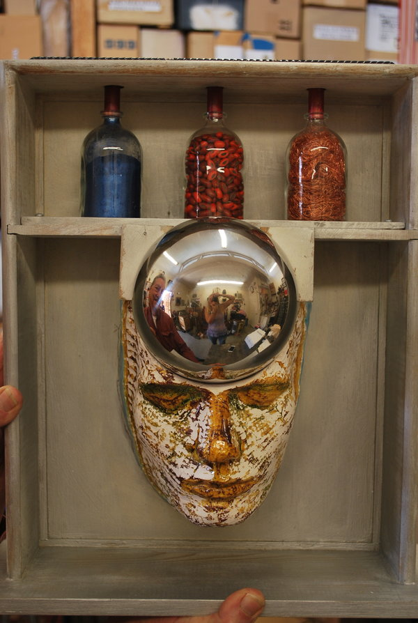 the scarred seer, bob privitt, assemblage