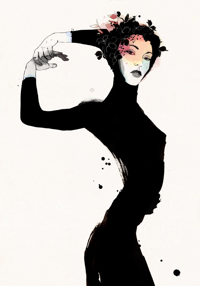 'Pale' - Conrad Roset Solo Exhibition @ Spoke Art Gallery - preview by beautiful.bizarre