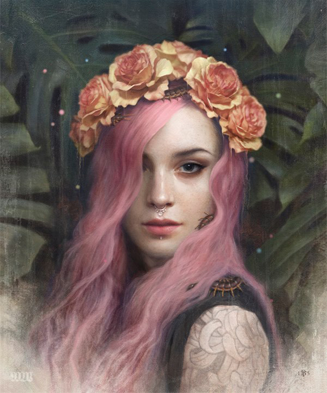 Tom Bagshaw - The Haven Gallery Inaugural Exhibition - preview by beautiful.bizarre