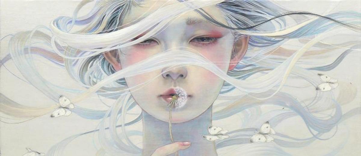 ephemeral ~ Territory of girls 「ephemeral~少女たちの領域」 @ Jiro Miura Gallery - via beautiful.bizarre