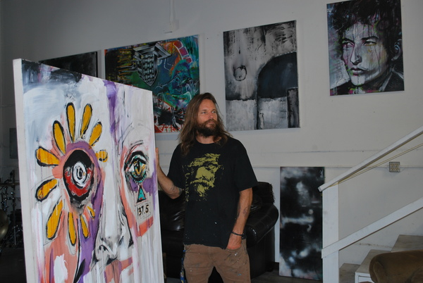 patrick fisher, gamut, the compound, camarillo art, mixed media, art therapy