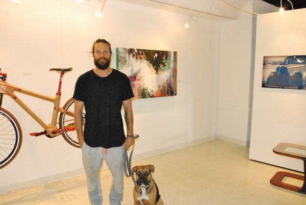 patrick fisher, gamut, blackboard gallery, mixed media