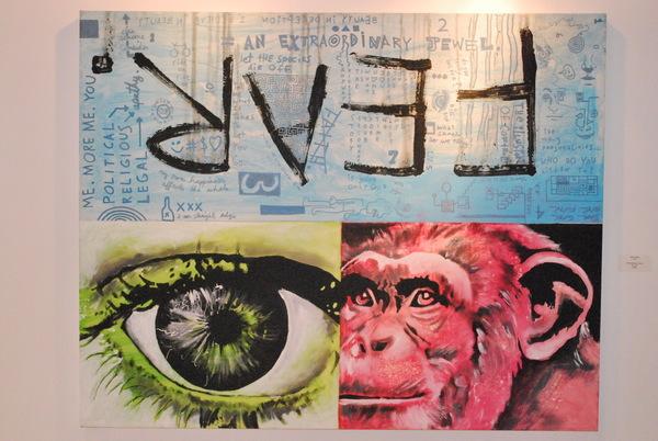 mixed media, painting, patrick fisher