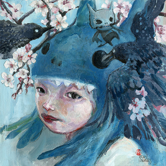 """Sotsugyou Omedetou"" by Mari Inukai - LAX/LHR - Thinkspace x StolenSpace Gallery (London)"