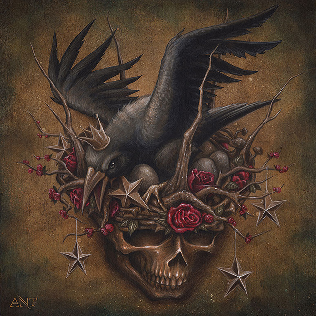 """The Crow's Nest"" by Anthony Clarke - LAX/LHR - Thinkspace x StolenSpace Gallery (London)"