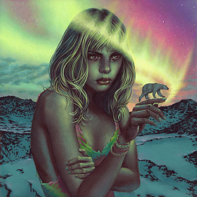 Northern Trails by Casey Weldon - LAX/LHR - Thinkspace x StolenSpace Gallery (London)