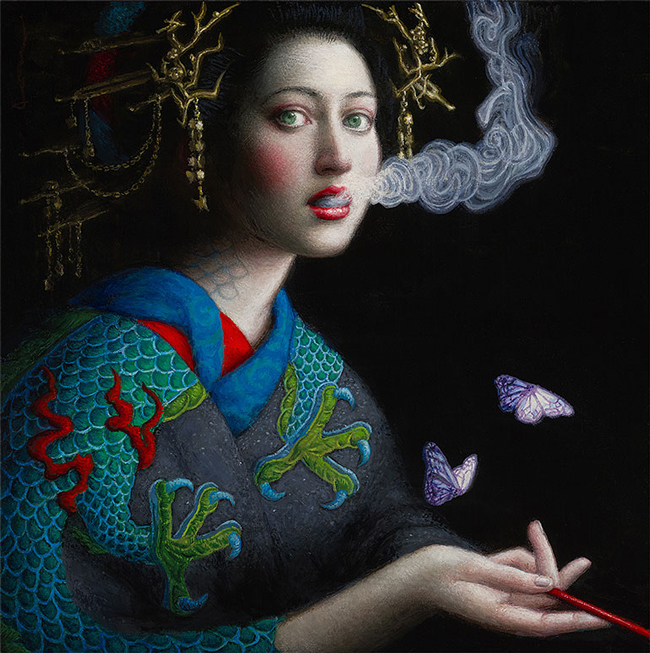 Dragon by Chie Yoshii - LAX/LHR - Thinkspace x StolenSpace Gallery (London)