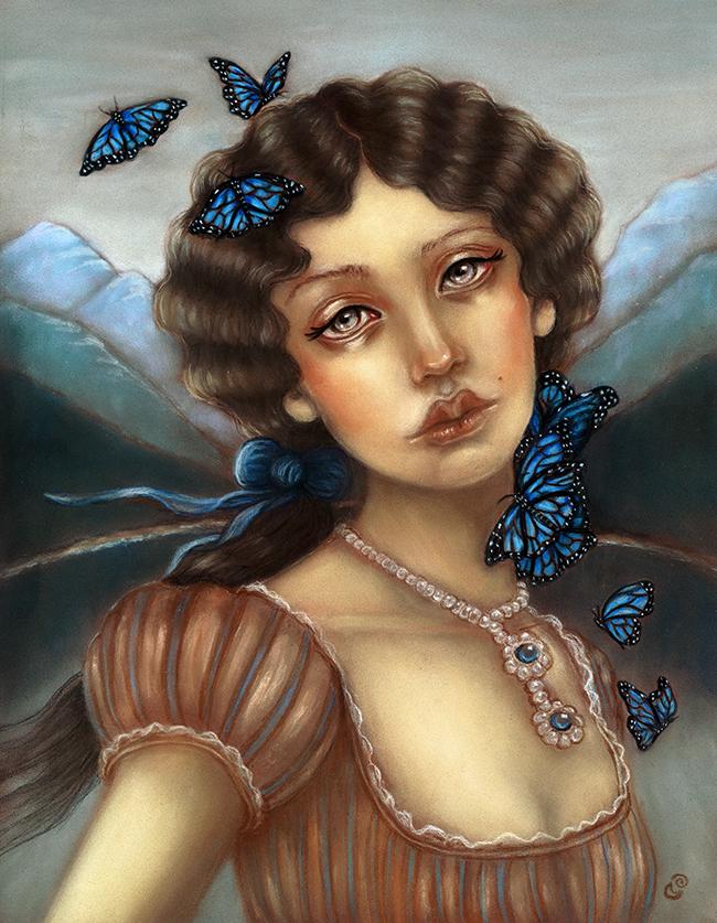 'Ode to Memory' by Tammy Mae Moon - Victoriana @ Alexi Era Gallery - via beautiful.bizarre