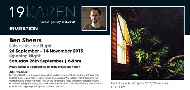 Ben Sheers - Night @ 19Karen Contemporary Artspace - via beautiful.bizarre