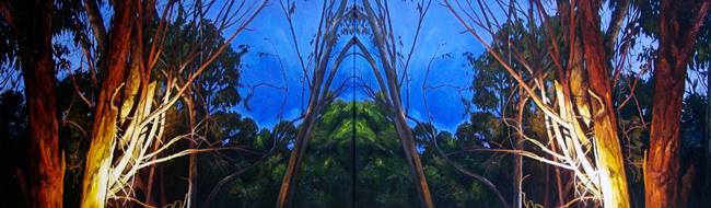 Ben Sheers - Cathedral | Night @ 19Karen Contemporary Artspace - via beautiful.bizarre