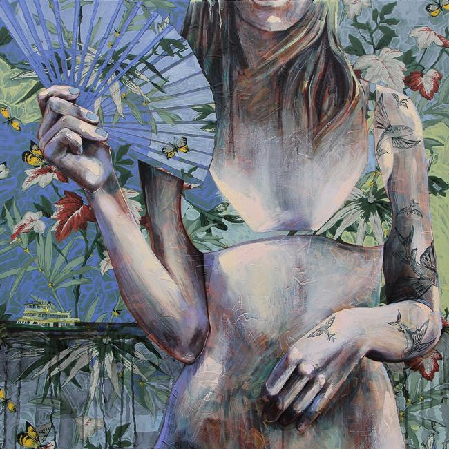 Jessica Watts - Fish Will Fly | Debutante @ 19Karen Contemporary Artspace - via beautiful.bizarre