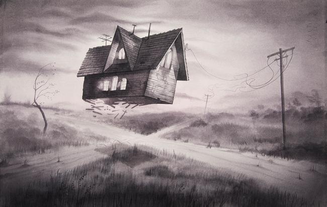 """""""Crossroads"""" by Annie Owens @ Antler Gallery PDX"""
