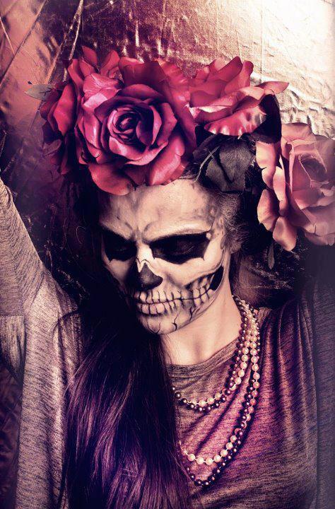 catrinas, dia de los muertos photography, sugar skills, face paint