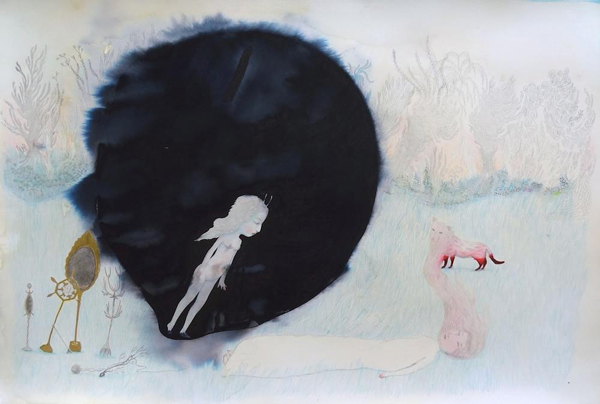 Cendrine Rovini Painting