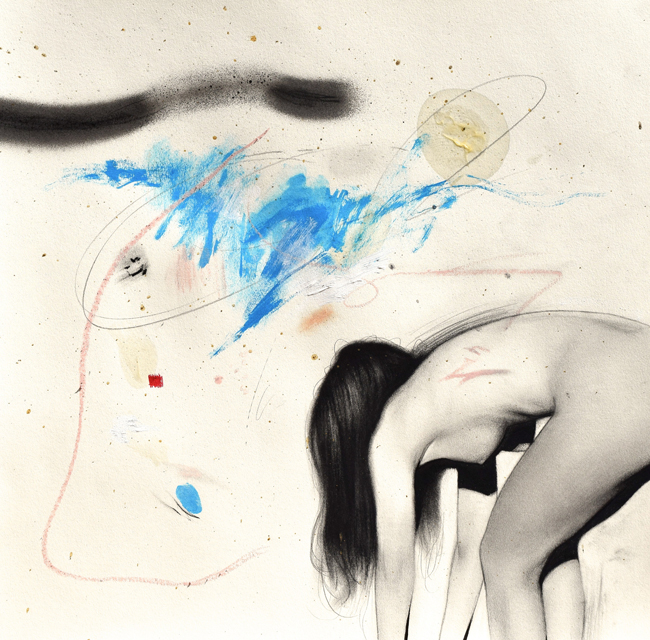 """Disruption"" by Daniel Segrove - Falling Out of Form @ Smash Gallery - via beautiful.bizarre"