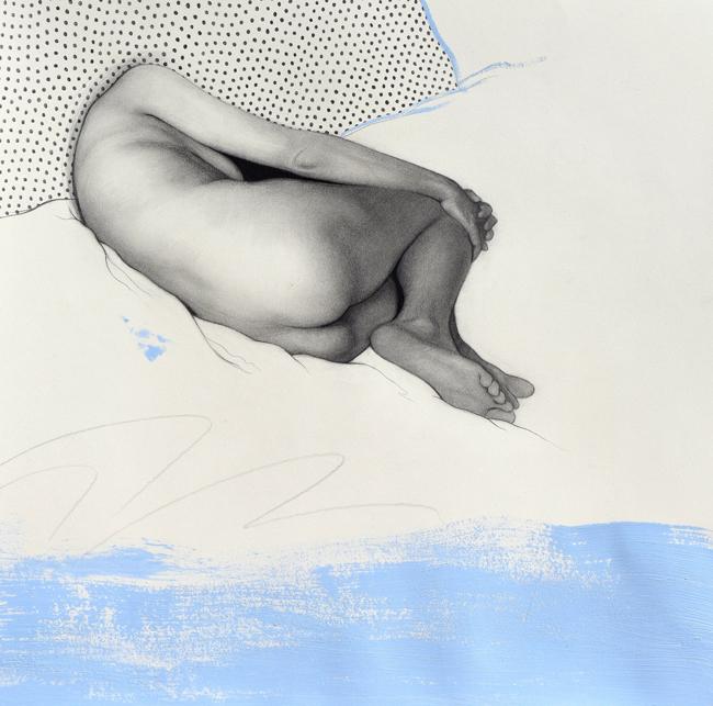 """Solitude"" by Daniel Segrove -Falling Out of Form @ Smash Gallery - via beautiful.bizarre"
