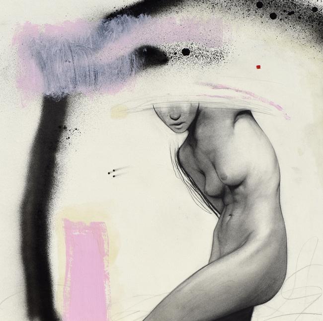 """Fade"" by Daniel Segrove - Falling Out of Form @ Smash Gallery - via beautiful.bizarre"