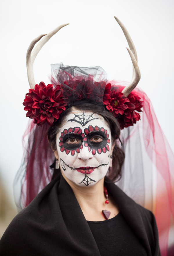 jakob schiller, dia de los muertos photography, sugar skills, face paint