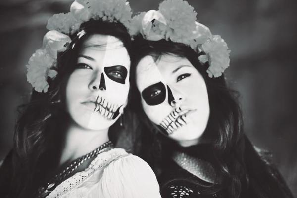 molly lichten, dia de los muertos photography, sugar skills, face paint