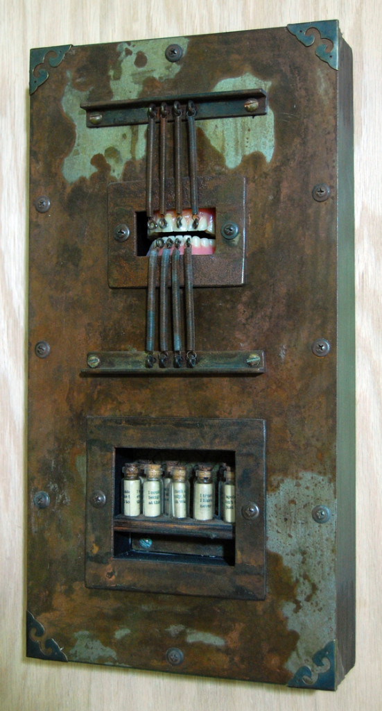 sweatbox studios, mark waldman, assemblage art, assemblage