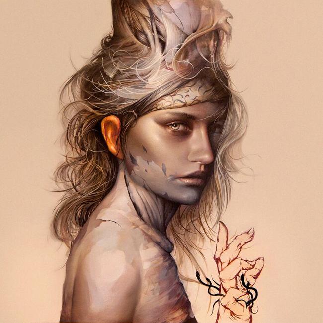 Dan Quintana - Atrementum @ Vanilla Gallery - via beautiful.bizarre