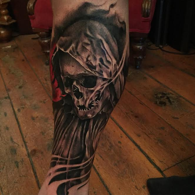 jason stieva, tatoo, tatoo art, shallow grave studios, assemblage art, gothic art, dark art, skull art