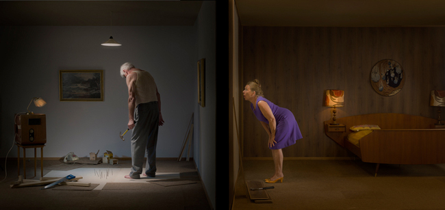 'Something's Wrong With The Neighbor' (Peeping Tom) by Ole Marius Joergensen - An interview with beautiful.bizarre