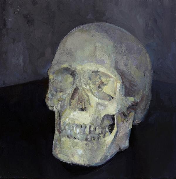"""""""Skull 01"""" by Joe Forkan"""