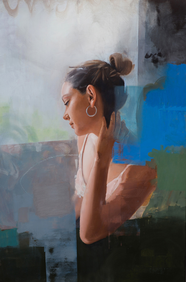 'So Many Days Apart' by Delfin Finley - Smashing Into 2016 Smashing Into 2016 @ Smash Gallery + LA Art Show via beautiful.bizarre
