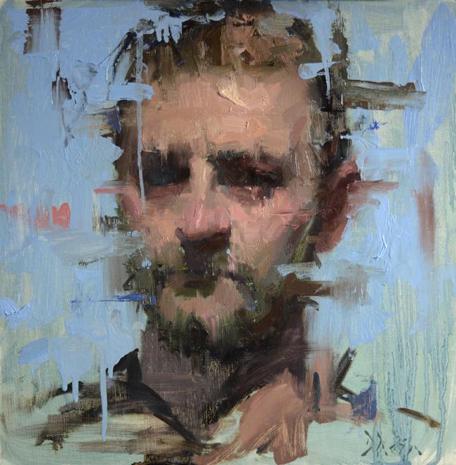 Dane by Jacob Dhein - Smash Gallery @ LA Art Show 2016 via Beautiful Bizarre