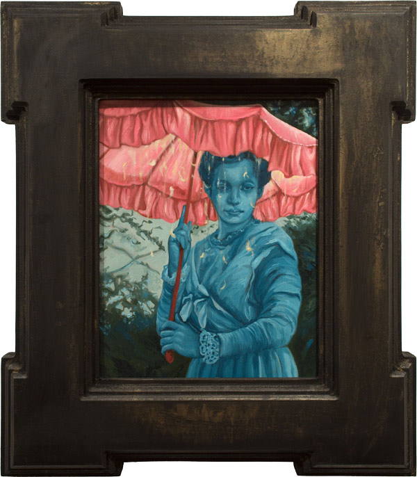 """Parasol"" by Paul Romano - A part of his solo exhibition 'Interim' at Paradigm Gallery + Studio (Philadelphia) - via beautiful.bizarre"