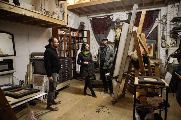 Inside Paul Romano's Studio - via beautiful.bizarre