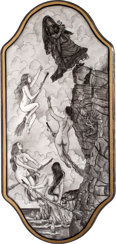 'Fall to Grace' by Robert Kraiza @ Paradigm Gallery + Studio (Philadelphia) - via beautiful.bizarre