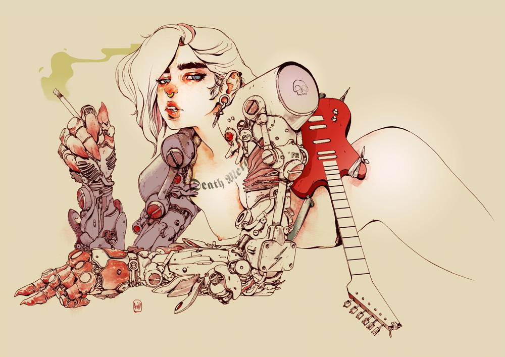 saucy_female_figures_of_chuma_hill_beautifulbizarre