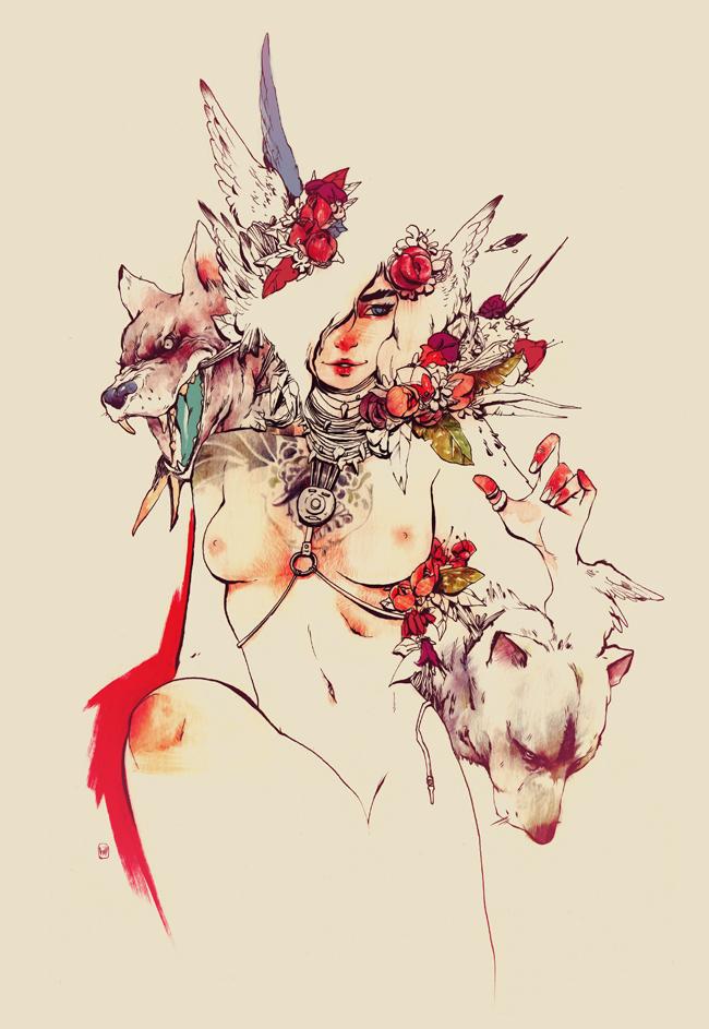 saucy_female_figures_of_chuma_hill_beautifulbizarre10