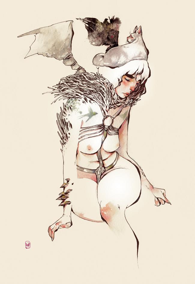 saucy_female_figures_of_chuma_hill_beautifulbizarre14