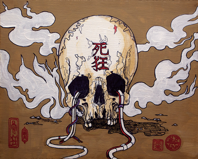 Tokyo Jesus - Skulls and Sweets @ Stranger Factory - via @ beautiful.bizarre